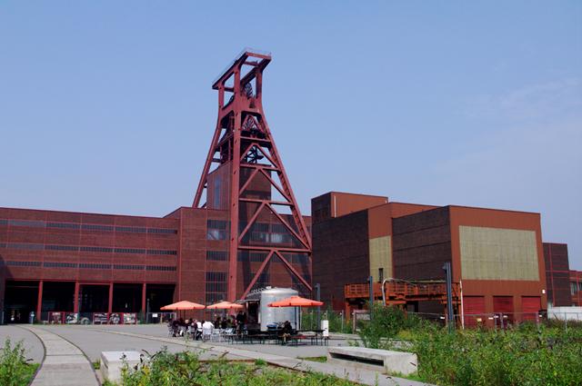 02エムシャーパーク ツォルフェアアイン炭鉱業遺産群